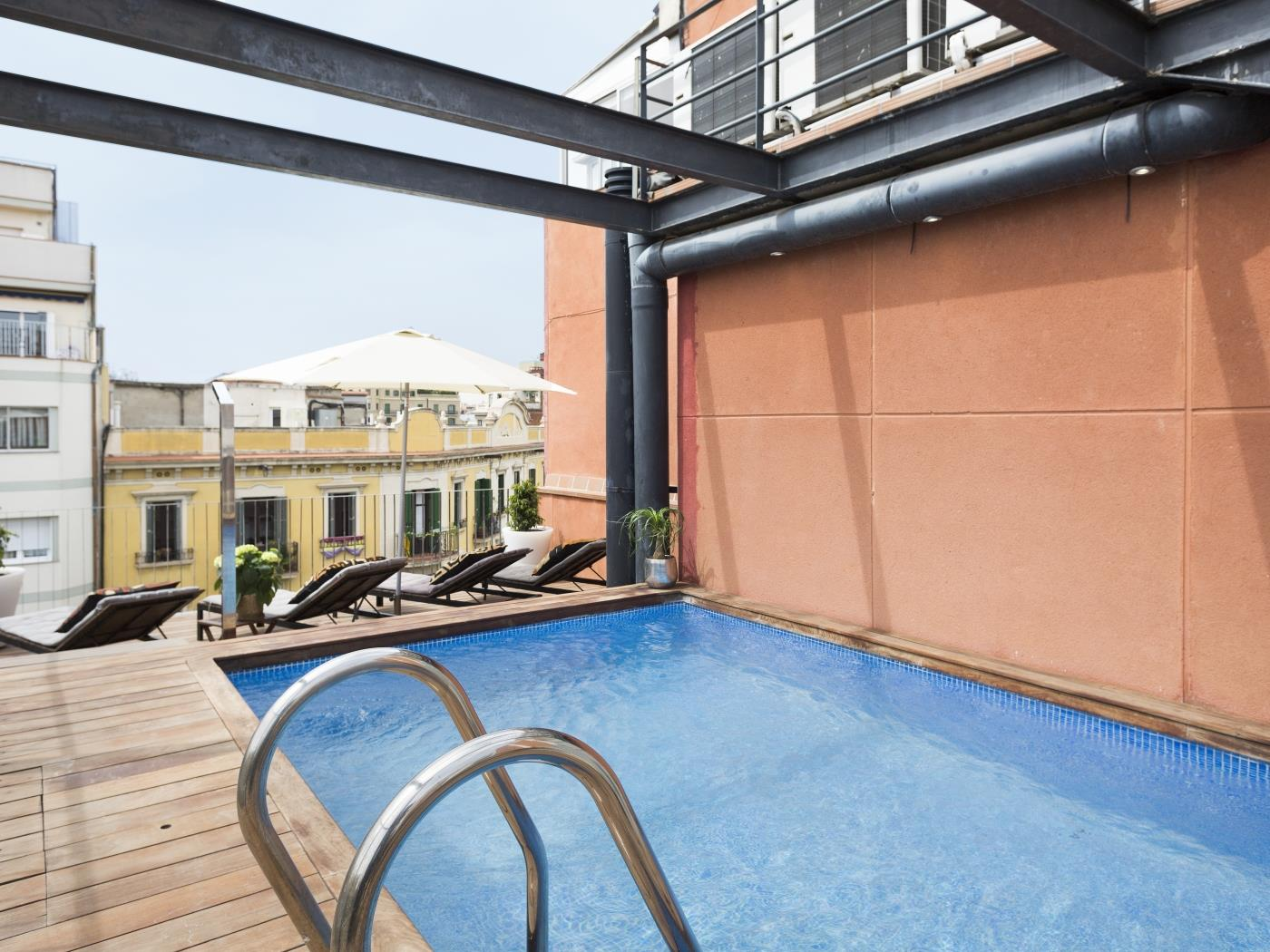Barcelona Apartment Arc de Triomf with Pool - My Space Barcelona Mieszkanie