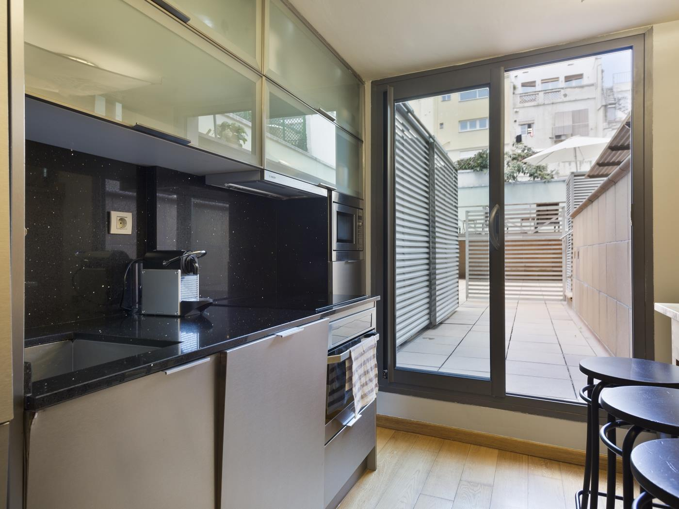 Gracia loft with privatve terrace and shared pool - My Space Barcelona Mieszkanie