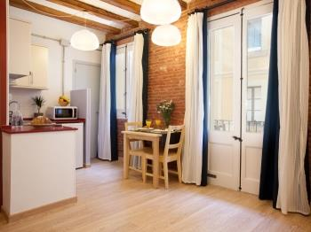 Beautiful and bright apartment close to the Barcel